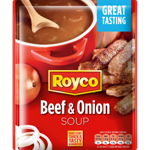 Royco Beef & Onion Soup Packet 50g
