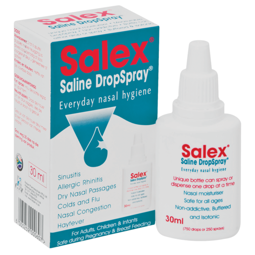 Salex Saline Decongest Drop Spray 30ml