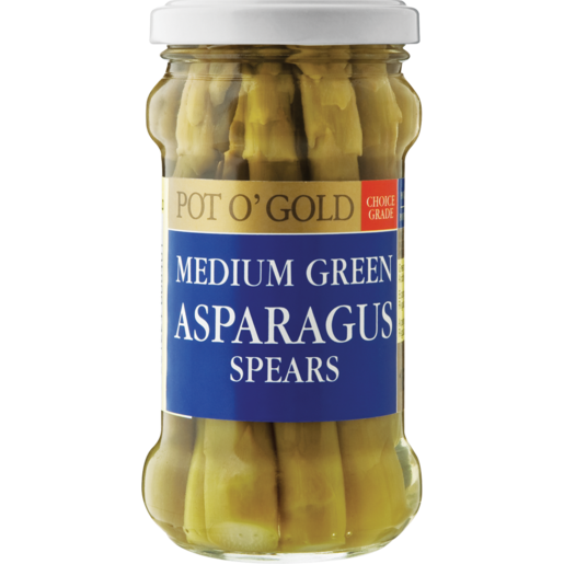 Pot O' Gold Green Asparagus Spears 180g
