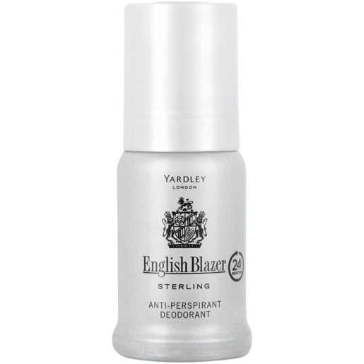 Yardley English Blazer Sterling Anti-Perspirant Roll-On 50ml