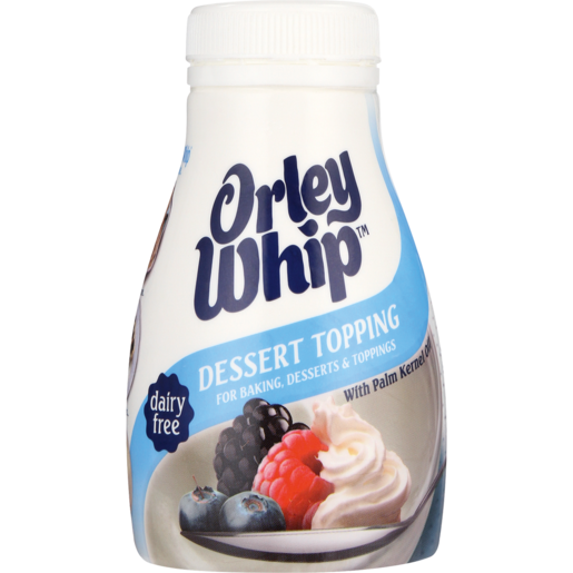 Orley Whip Dessert Topping Imitation Cream 250ml
