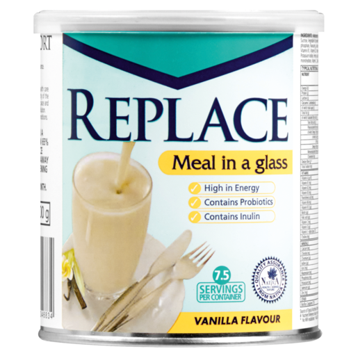 Replace Classic Vanilla Flavoured Protien Meal Replacement 400g