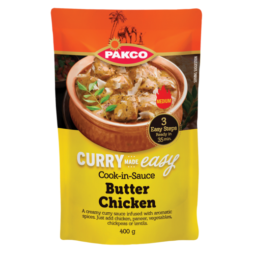 Pakco Butter Chicken Cook-In-Sauce 400g
