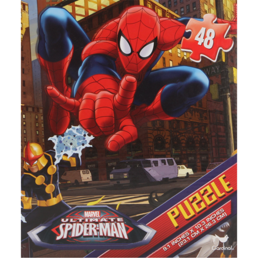 Ultimate Spiderman Basic Puzzle Set 48 Piece