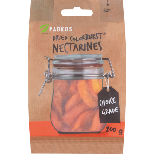 Padkos Dried Colour Burst Nectarines 200g