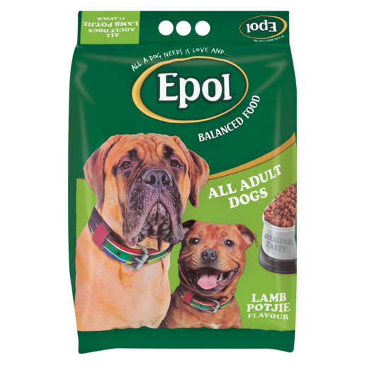 Epol Lamb Potjie Flavoured Adult Dog Food 8kg