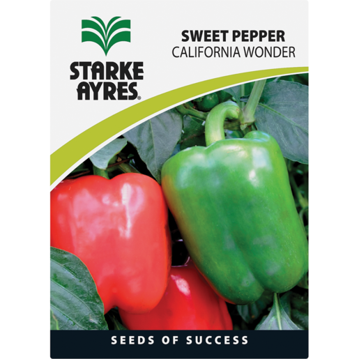 Starke Ayres Pepper Variety Vegetable Seeds