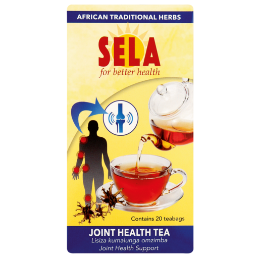 Sela Joint Health Support Teabags 20 Pack
