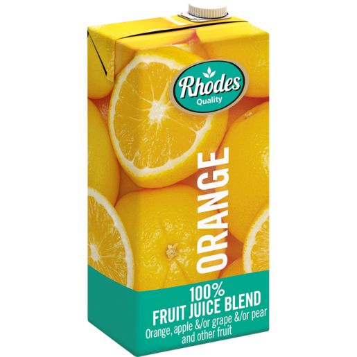 Rhodes 100% Orange Juice 1L