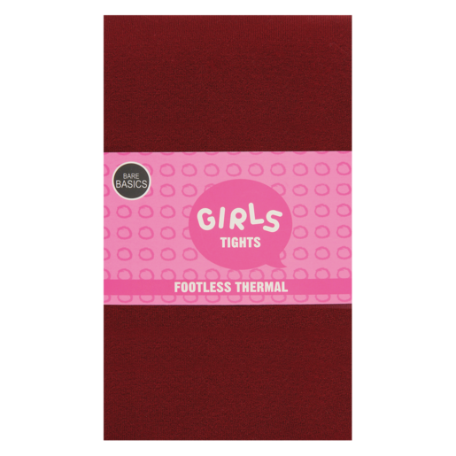 Bare Basics Girls Thermal Tights 9-10 Years