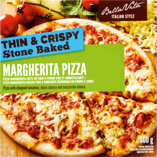Bella Vita Frozen Margherita Pizza 300g