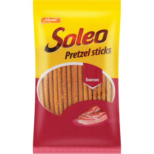 Soleo Bacon Pretzel Sticks 60g