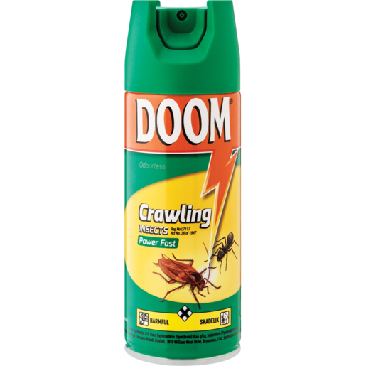 Doom Power Fast Crawling Insecticide 300ml
