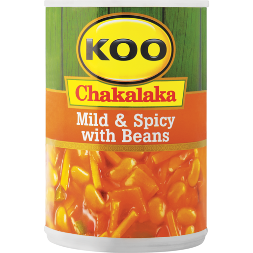 Koo Chakalaka With Beans 410g