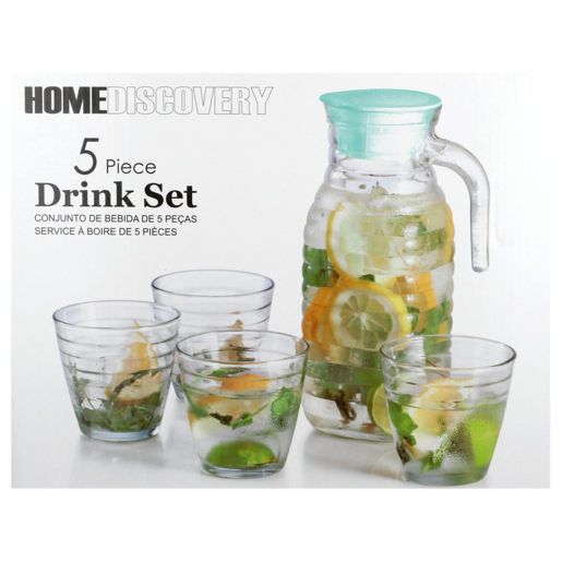 Home Discovery Ring Drink Set 5 Piece