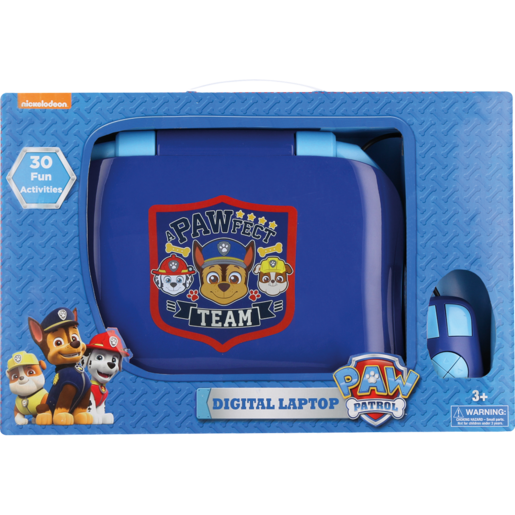 Paw Patrol Digital Laptop With Mouse | Kids Tablets ...
