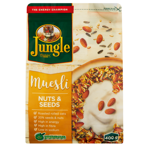 Jungle Nuts & Seeds Muesli 400g