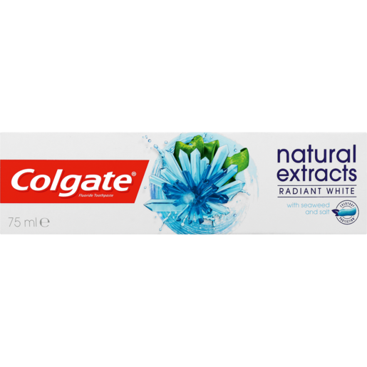 Colgate Natural Extracts With Seaweed & Salt Radiant White Toothpaste 75ml
