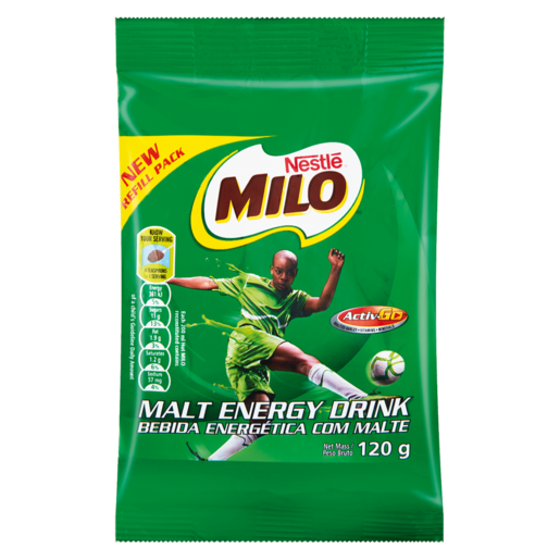 Nestlé Milo Malt Energy Beverage Pack 120g