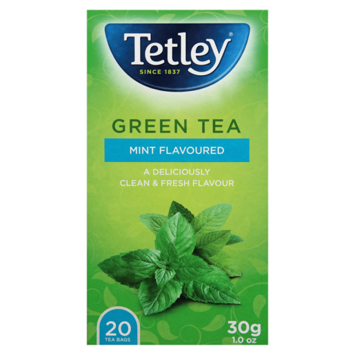 Tetley Mint Flavoured Green Teabags 20 Pack