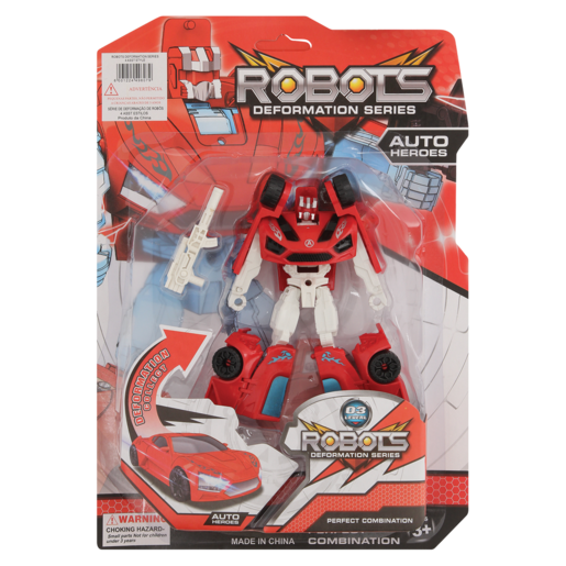 Robots Assorted Deformation Play Set