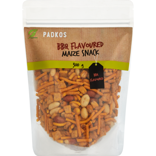 Padkos BBQ Flavoured Maize Snack 300g