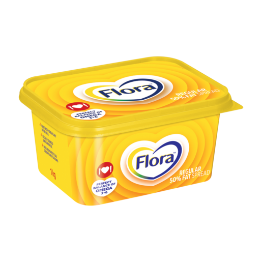 Flora Regular 50% Fat Spread 1kg