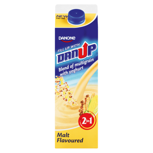 Danone DanUp 2-In-1 Malt Flavoured Yoghurt Blend 950g