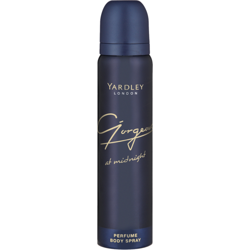 Yardley Gorgeous At Midnight Ladies Aerosol Can 90ml