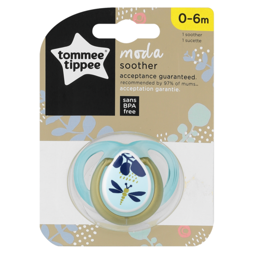 Tommee Tippee Boy Moda Soother