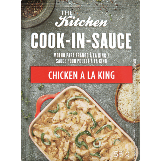 The Kitchen Chicken A La King Cook-In-Sauce 58g