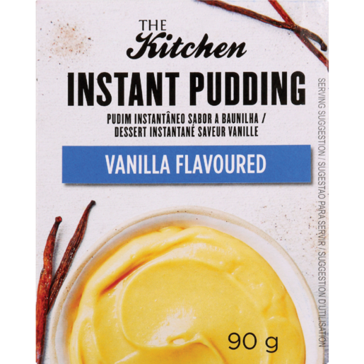 The Kitchen Vanilla Flavoured Instant Pudding 90g