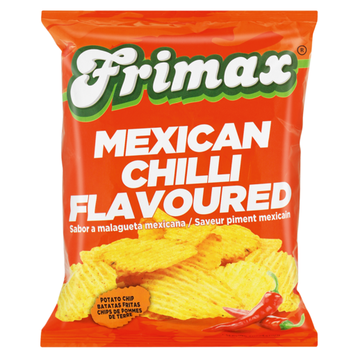 Frimax Mexican Chilli Flavoured Potato Chips 125g