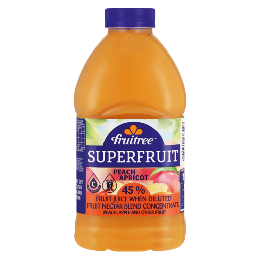 Fruitree Superfruit Peach & Apricot Concentrated Nectar Blend 1L