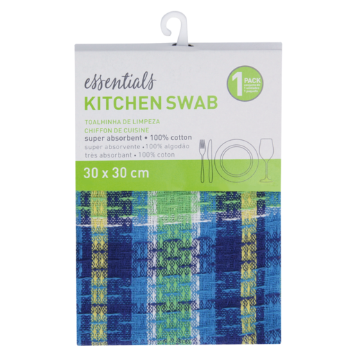 Essentials Assorted Kitchen Swab