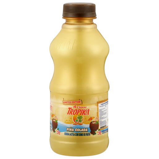 Clover Tropika Limited Edition Pina Colada Flavoured Dairy Fruit Juice Blend 500ml