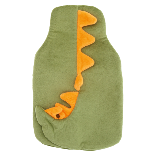 Fleece Dinosaur Hot Water Bottle 750ml