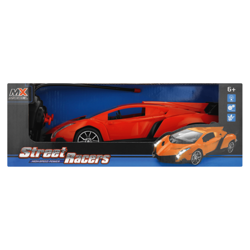 MX Model Medium Remote Control Street Racer Car