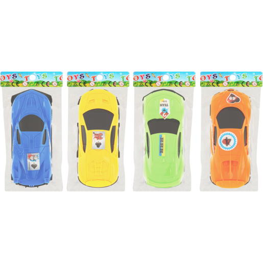 Toy Car Assorted 12cm (Single)