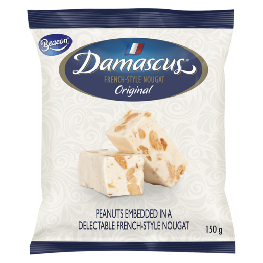 Damascus Original French-Style Nougat Minis 150g