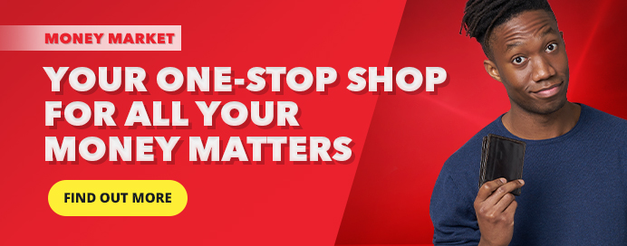 Get airtime, bus tickets, money transfers and so much more from Shoprite Money Market!